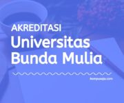 Akreditasi Program Studi UBM Jakarta - Universitas Bunda Mulia
