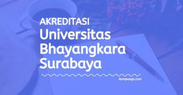 Akreditasi Program Studi UBHARA - Universitas Bhayangkara Surabaya