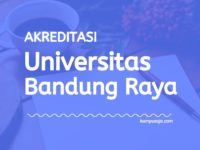 Akreditasi Program Studi UNBAR - Universitas Bandung Raya