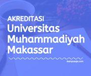 Akreditasi Program Studi UNISMUH - Universitas Muhammadiyah Makassar
