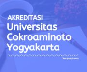 Akreditasi Program Studi UCY - Universitas Cokroaminoto Yogyakarta