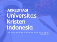 Akreditasi Program Studi UKI Jakarta - Universitas Kristen Indonesia