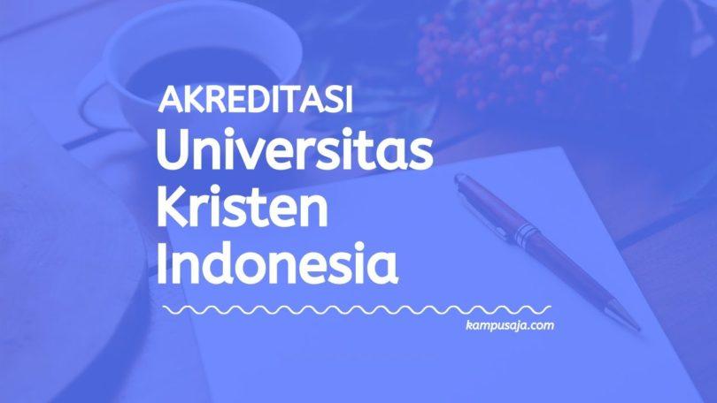 Akreditasi Program Studi UKI Jakarta - Universitas Kristen Indonesia