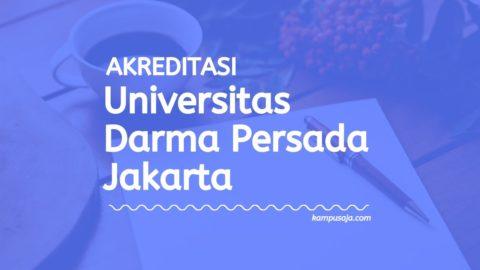 Akreditasi Program Studi UNSADA Jakarta - Universitas Darma Persada