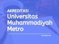 Akreditasi Program Studi UM Metro - Universitas Muhammadiyah Metro Lampung