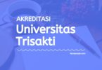 Akreditasi Program Studi Universitas Trisakti