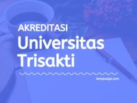 Akreditasi Program Studi Universitas Trisakti