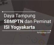 Daya Tampung dan Peminat SBMPTN ISI Yogyakarta