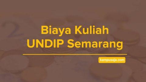 Biaya Kuliah UNDIP Semarang - Jalur Masuk dan Pendaftaran Universitas Diponegoro