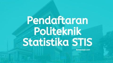Pendaftaran Politeknik Statistika STIS
