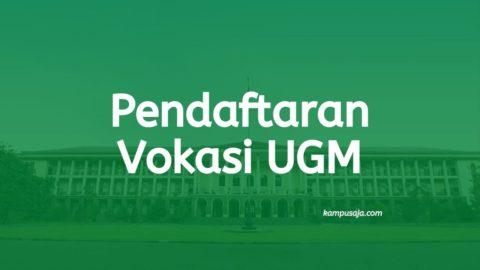 Pendaftaran Vokasi UGM