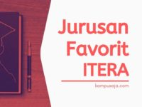 Jurusan Favorit di ITERA