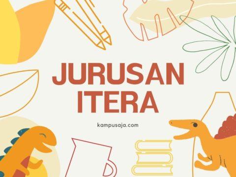 Jurusan di ITERA